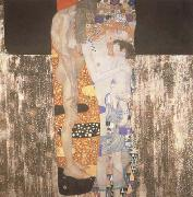 Gustav Klimt She who was La Belle Heaulmiere (mk19) oil painting artist