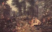 BRUEGHEL, Jan the Elder Sencse of Smell (mk14) oil painting picture wholesale
