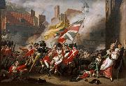 COPLEY, John Singleton The Death of Major Peirson (mk08) oil painting picture wholesale