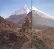 Caspar David Friedrich The Watzmann (mk10) oil painting picture wholesale