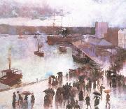 Charles conder Departure of thte OrientCircularQuay (nn02) oil painting picture wholesale