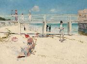 Charles conder Holiday at Mentone (nn02) oil painting artist