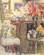 Childe Hassam Celis Thaxter's Sitting Room (nn02) oil painting picture wholesale