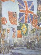 Childe Hassam Avenue of the Allies (nn02) oil painting picture wholesale