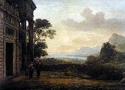 Claude Lorrain Landscape with Abraham Expelling Hagar (mk17) oil painting picture wholesale