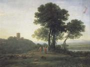 Claude Lorrain Landscape with Jacob and Laban (mk17) oil painting picture wholesale