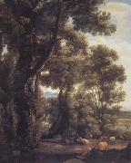 Claude Lorrain Landscape with a Goatherd (mk17) oil painting picture wholesale