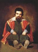 Diego Velazquez Portrait d'un nain assis a terre (don Sebastian de Morra) (df02) oil painting picture wholesale