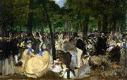 Edouard Manet Music in the Tuileries (nn02) oil painting picture wholesale