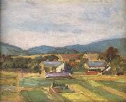 Egon Schiele Landscape in Lower Austria (mk12) oil painting picture wholesale