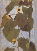 Egon Schiele Sunflower I(mk12) oil painting picture wholesale