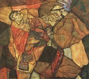 Egon Schiele Agony (mk12) oil painting picture wholesale