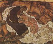 Egon Schiele Death and the Maiden (mk20) oil painting picture wholesale