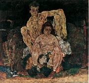 Egon Schiele The Familly (mk12) oil painting picture wholesale