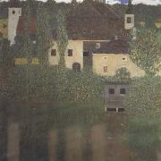 Gustav Klimt Schlo Kammer at Lake Atter I (mk20) oil painting picture wholesale
