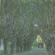 Gustav Klimt Avenue in Schloss Kammer Park (mk20) oil painting picture wholesale