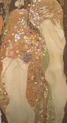 Gustav Klimt Water Serpents II (mk20) oil painting artist