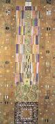 Gustav Klimt Pattern for the Stoclet Frieze (mk20) oil painting picture wholesale