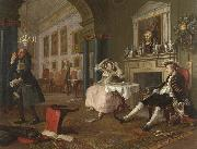 HOGARTH, William Shortly after the Marriage (mk08) oil painting picture wholesale