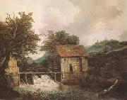 Jacob van Ruisdael Two Watermills and an open Sluice near Singraven (mk08) oil painting picture wholesale