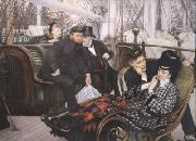 James Tissot The Last Evening (nn01) oil painting picture wholesale