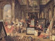 Jan Van Kessel Europe (centre panel) (mk14) oil painting picture wholesale
