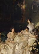 John Singer Sargent The Wyndham Sisters Lady Elcho,Mrs.Adeane,and Mrs.Tennanet (mk18) oil painting picture wholesale