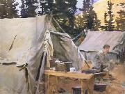 John Singer Sargent Camp at Lake O'Hara (mk18) oil painting picture wholesale