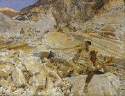 John Singer Sargent Bringing Down Marble from the Quarries to Carrara (mk18) oil painting picture wholesale