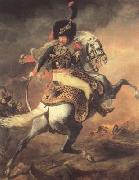 Theodore Gericault Chasseur of the Imperial Guard,Charging (mk10) oil painting picture wholesale