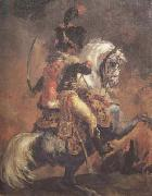 Theodore Gericault Chasseur of the Imperial Guard,Charging (mk10 oil painting picture wholesale