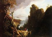 Thomas Cole Indian Sacrifice (mk13) oil painting picture wholesale