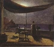 Thomas Fearnley Moonlight in Amalfi (mk22) oil painting picture wholesale