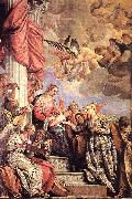 VERONESE (Paolo Caliari) The Marriage of St Catherine awr oil painting picture wholesale