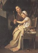 Adolphe William Bouguereau The Thank Offering (mk26) oil painting picture wholesale