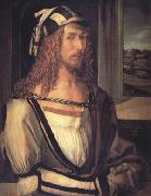 Albrecht Durer Self-Portrait with Gloves (nn03) oil painting picture wholesale