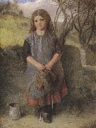 Alexander Davis cooper The Little Milkmaid (mk37) oil painting picture wholesale