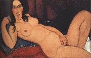 Amedeo Modigliani Reclining Nude with Loose Hair (mk39) oil painting picture wholesale