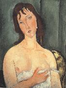 Amedeo Modigliani Portrait of a Young Woman (mk39) oil painting picture wholesale