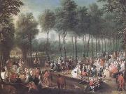Anonymous St James's Park and the Mall (mk25) oil