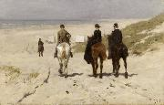 Anton mauve Riders on the Beach at Scheveningen (nn02) oil painting