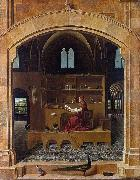 Antonello da Messina Saint Jerome in his Study (nn03) oil painting picture wholesale