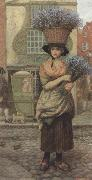 Arthur Hughes Sweet Lavender (mk37) oil painting picture wholesale