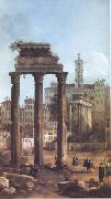 Canaletto Rome Ruins of the Forum looking towards the Capitol (mk25) oil painting picture wholesale