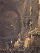 Canaletto Interior of San Marco (mk25) oil painting picture wholesale