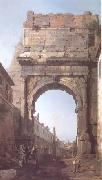 Canaletto The Arch of Titus (mk25) oil painting picture wholesale