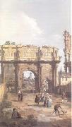 Canaletto Rome The Arch of Constantine (mk25) oil painting picture wholesale