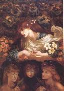 Dante Gabriel Rossetti The Blessed Damozel (mk28) oil painting picture wholesale