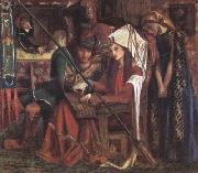 Dante Gabriel Rossetti The Tune of Seven Towers (mk28) oil painting picture wholesale