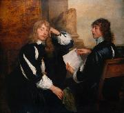 Dyck, Anthony van Thomas Killigrew and William (mk25) oil painting picture wholesale